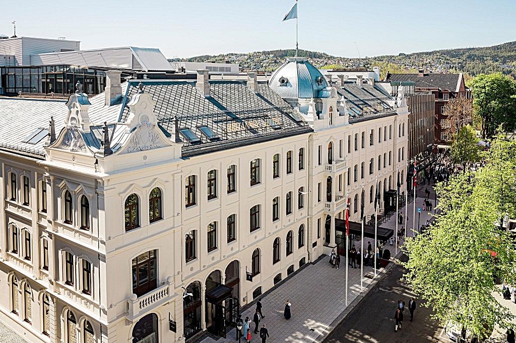 Fasade - Britannia Hotel - Trondheim - 2020