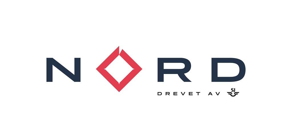 SJ Norge - Logo - NORD drevet av SJ