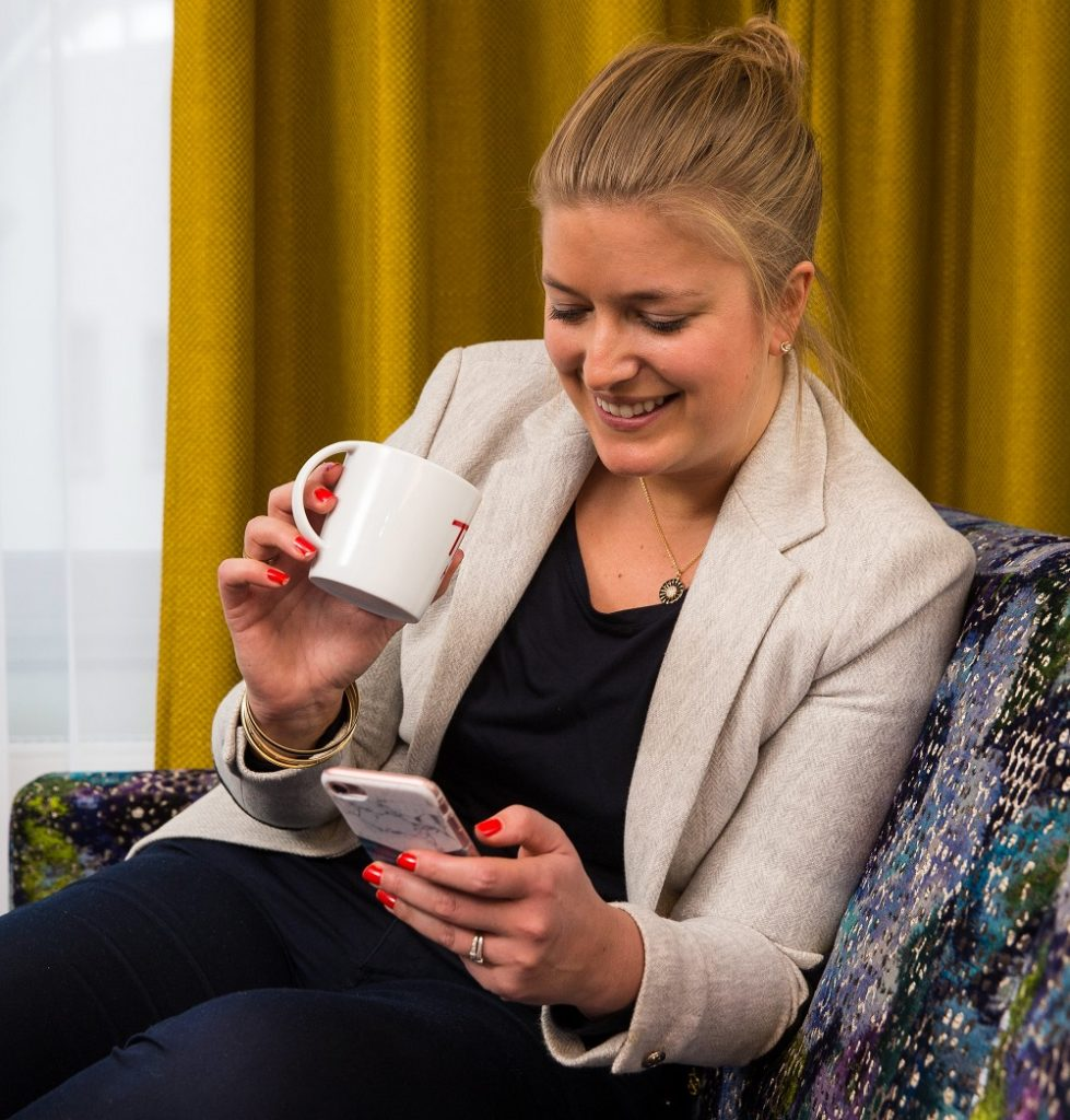 Utsjekk - Thon Hotels - app - digital teknologi