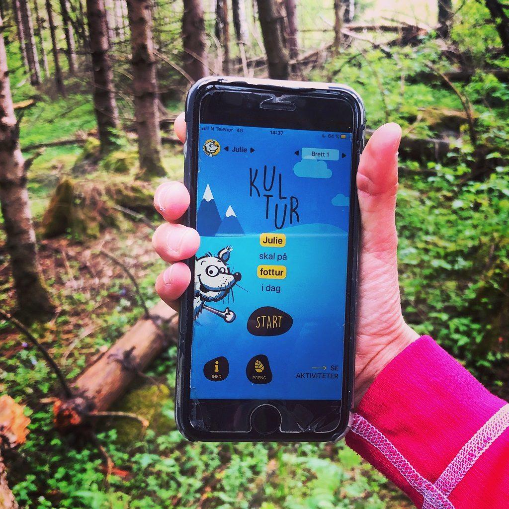 Kul-Tur - app - Norsk friluftsliv - DNT - Turistforeningen