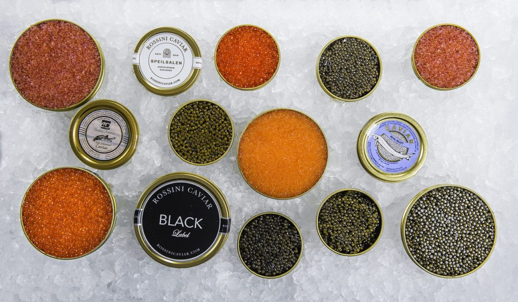 Caviar - Speilsalen - Hotel Britannia - Trondheim