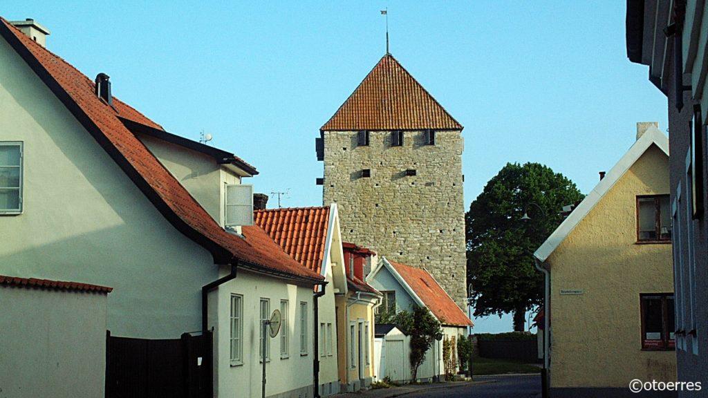 Gate - Visby - Gotland - Østersjøen - Sverige