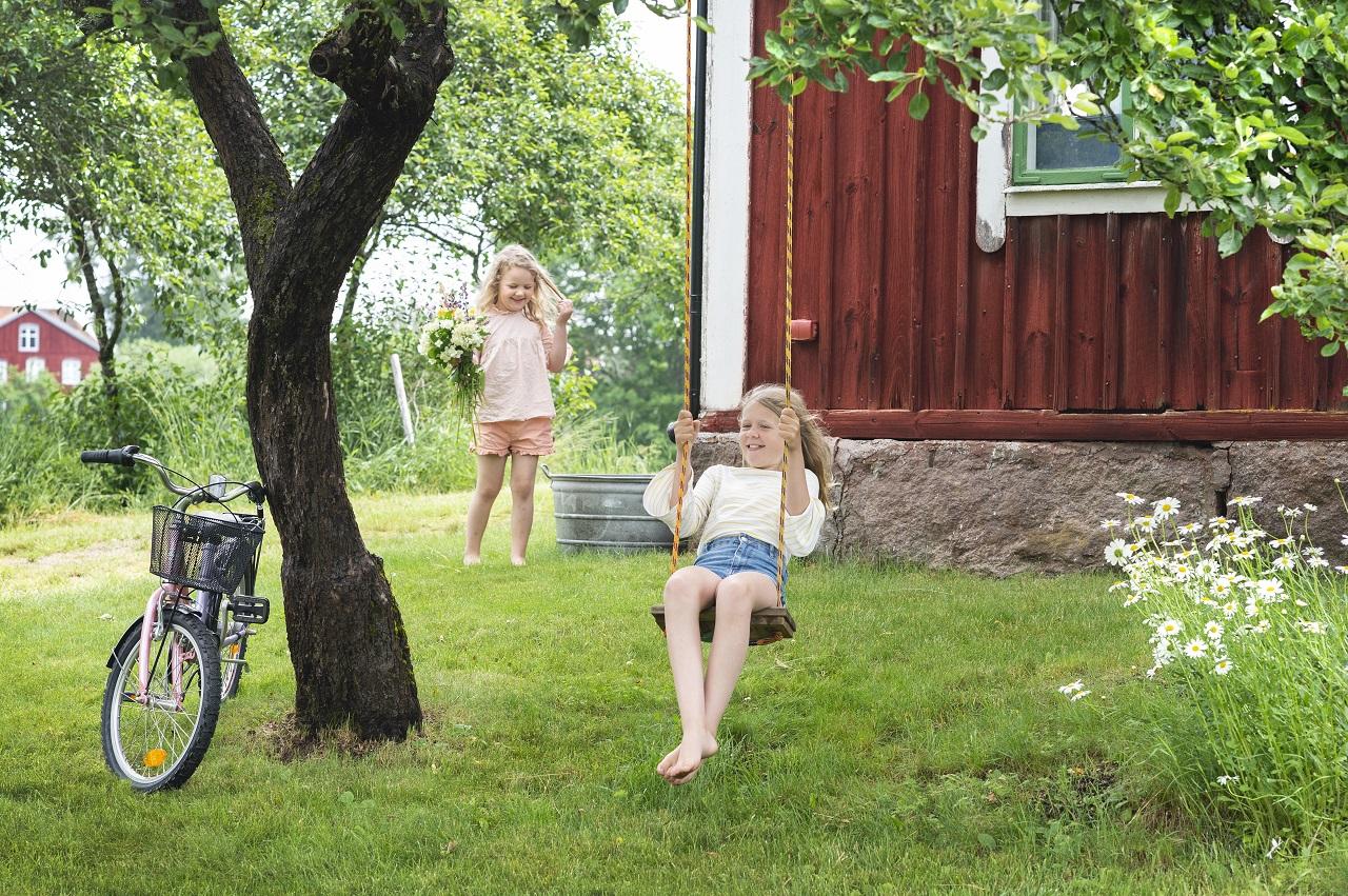 Småland - Sverige - Lekfullt - Rød Stuga