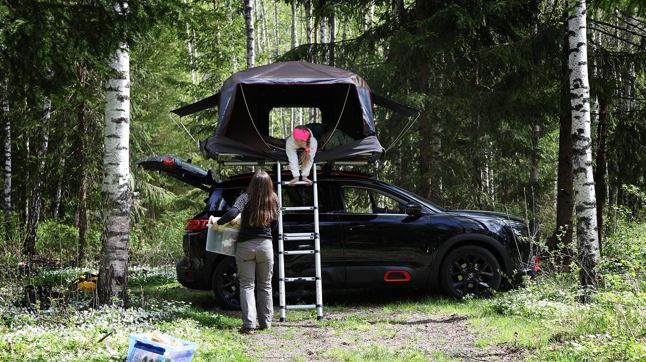 Takboks - Campingvogn - test - NAF -2020