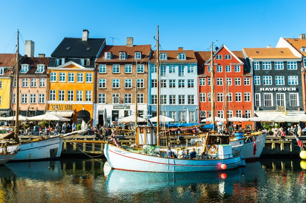 Nyhavn - København - Danmark - Apollo