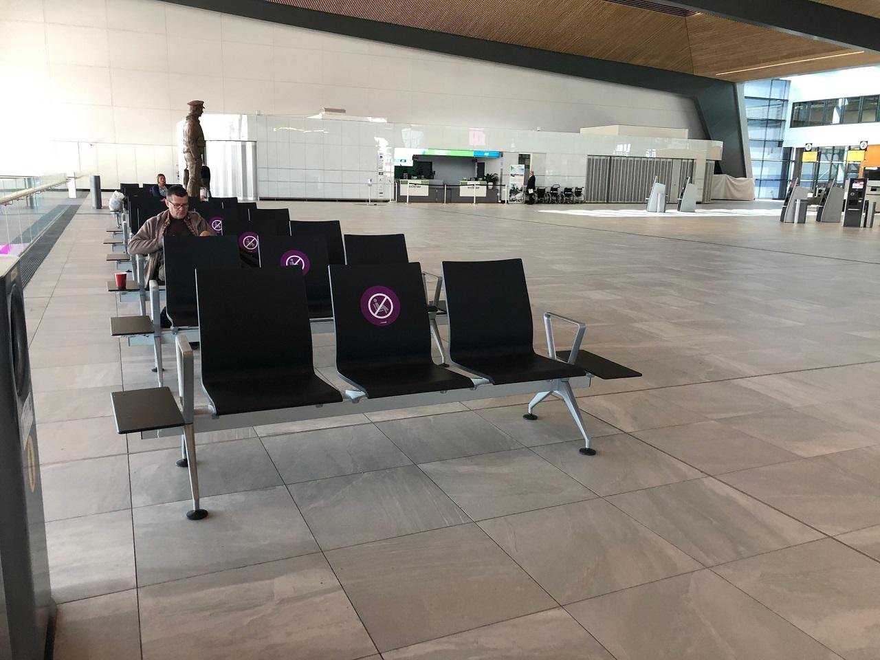 bergen lufthavn - avstand - passasjerer -flesland - avgangshall