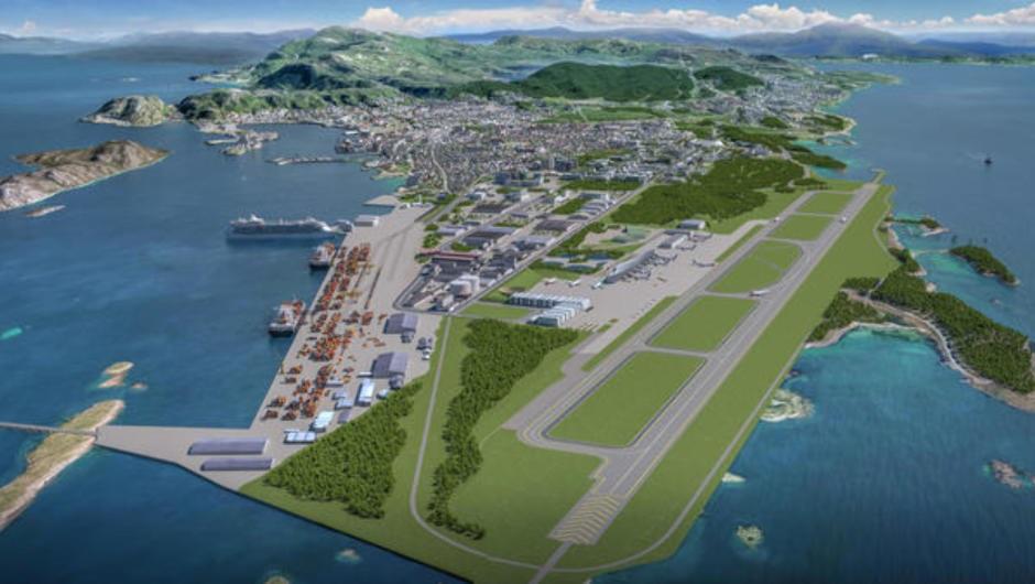 Nye Bodø lufthavn - illustrasjon - Avinor