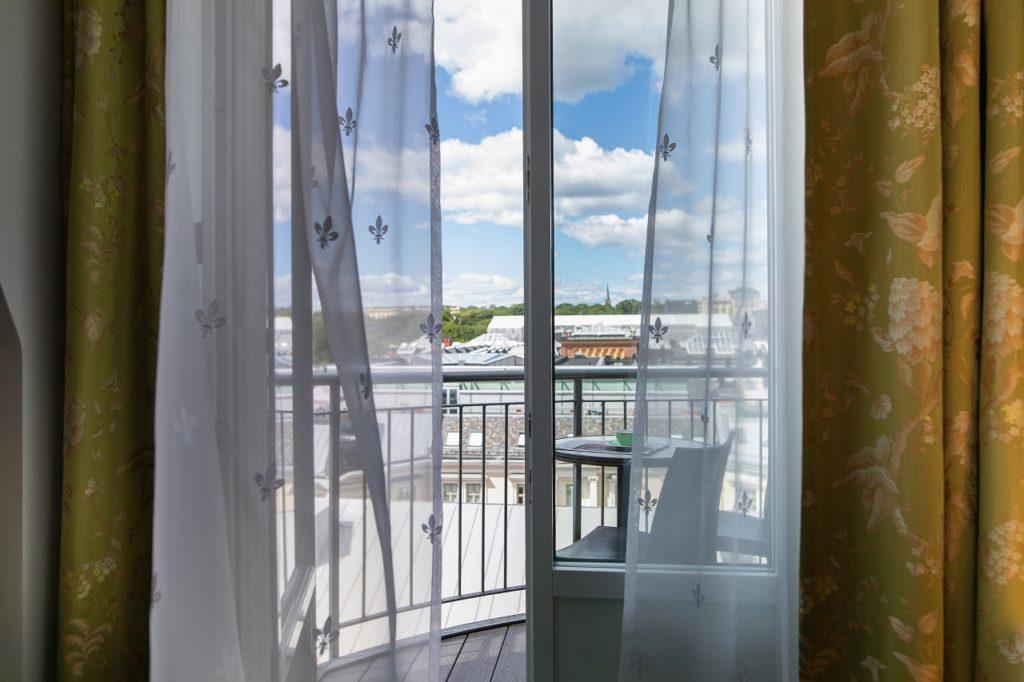 Utsikt fra rom - Hotel Bristol - Thon Hotels - 2020