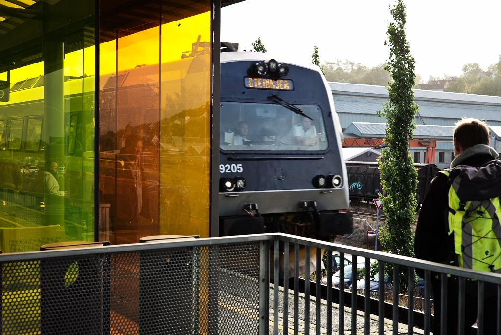 Marienborg stasjon - Trondheim, Jernbane - tog - Bane Nor