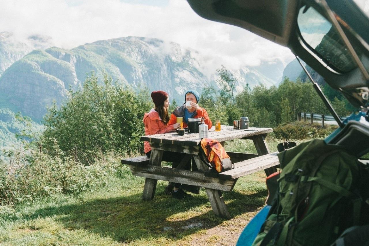 Rasteplass - Bilferie - Norge - KNA