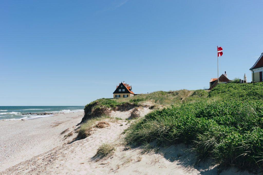 Strandliv i Skagen - Nordjylland - Danmark
