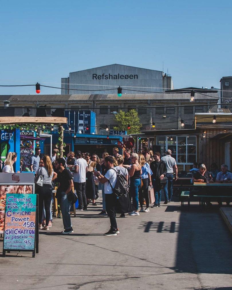 Reffen Streetfood - Refshaleøen - København - Danmark