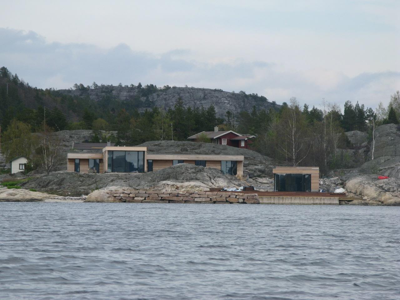 Norsk Friluftsliv -Bygging - Strandsone