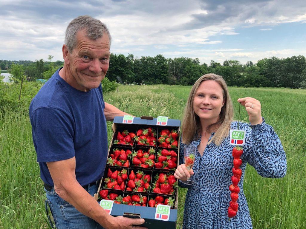 Lykke - ny norsk jordbærsort - navnekonkurranse - frukt.no