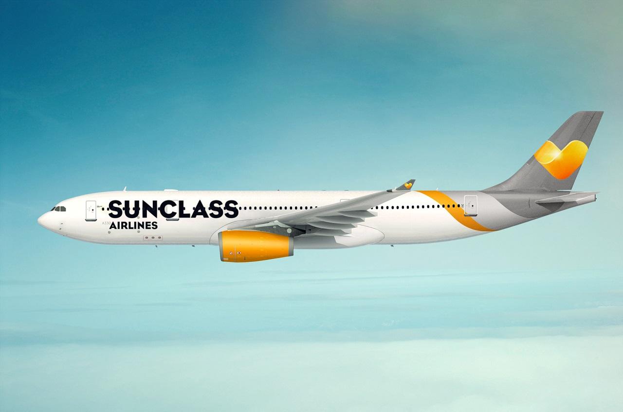 Airbus A 330 - Sunclass Airlines - Vinggruppen