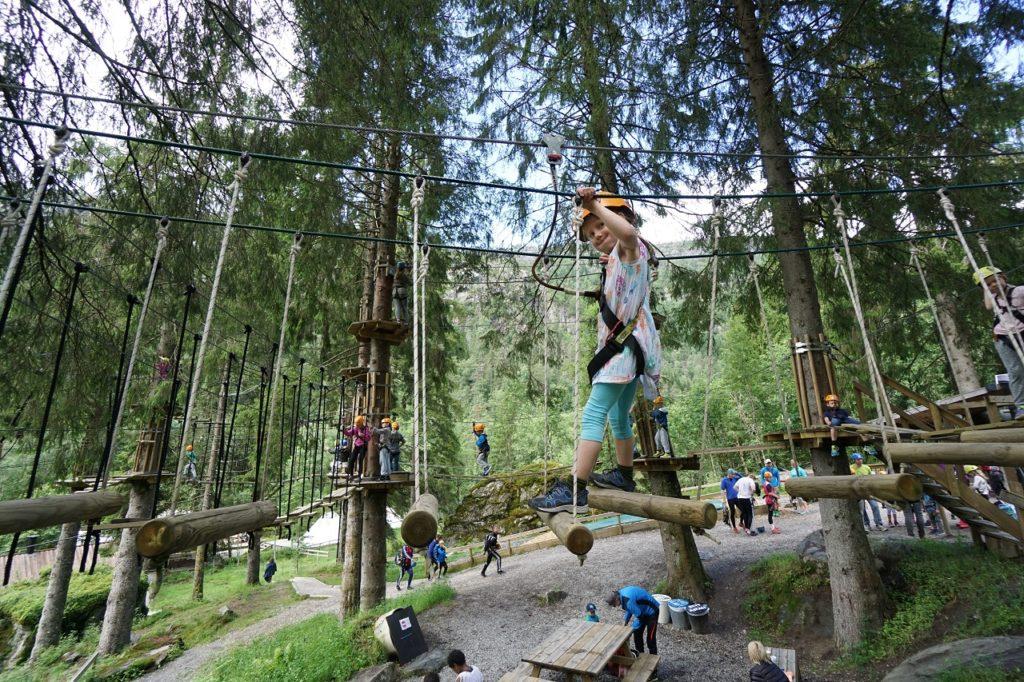 Klatrepark - Voss Active - Voss - Vestland Fylke