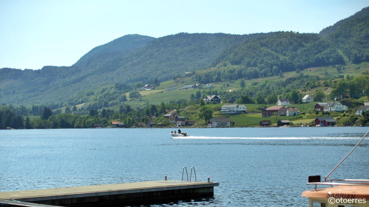 Vatsfjorden - Åmsosen - Vindafjord - Ryfylke