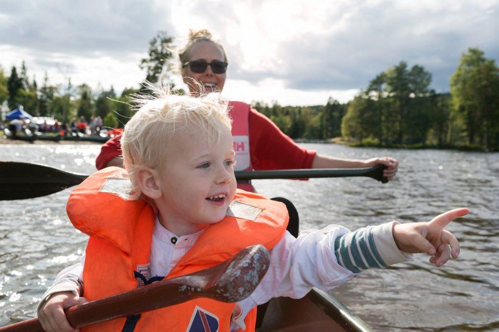 Kanopadling - Barn - Familie - Friluftslivets dag - Norsk Friluftsliv