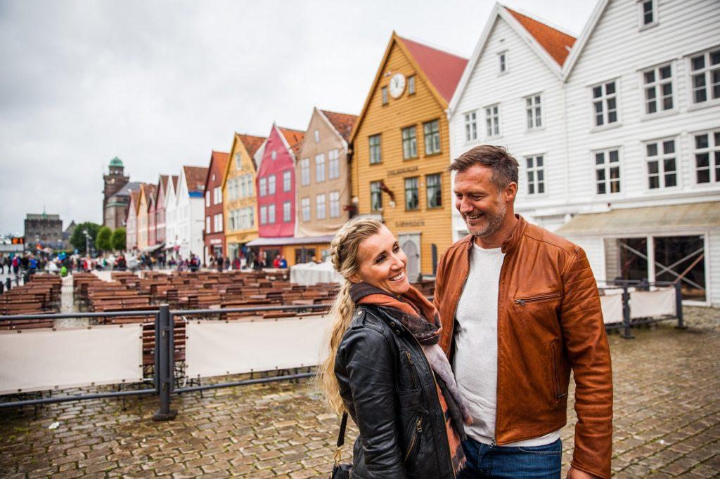 Par - Bryggen - Bergen - Norge - Visit Norway