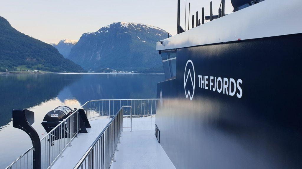 Legacy of the Fjords - elektrisk turistbåt - Flåm - The Fjords