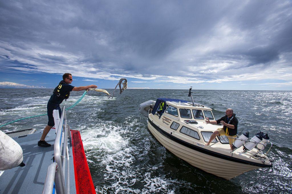 Redningsskøyte - Fritidsbåt - Havsnød - Redningsselskapet