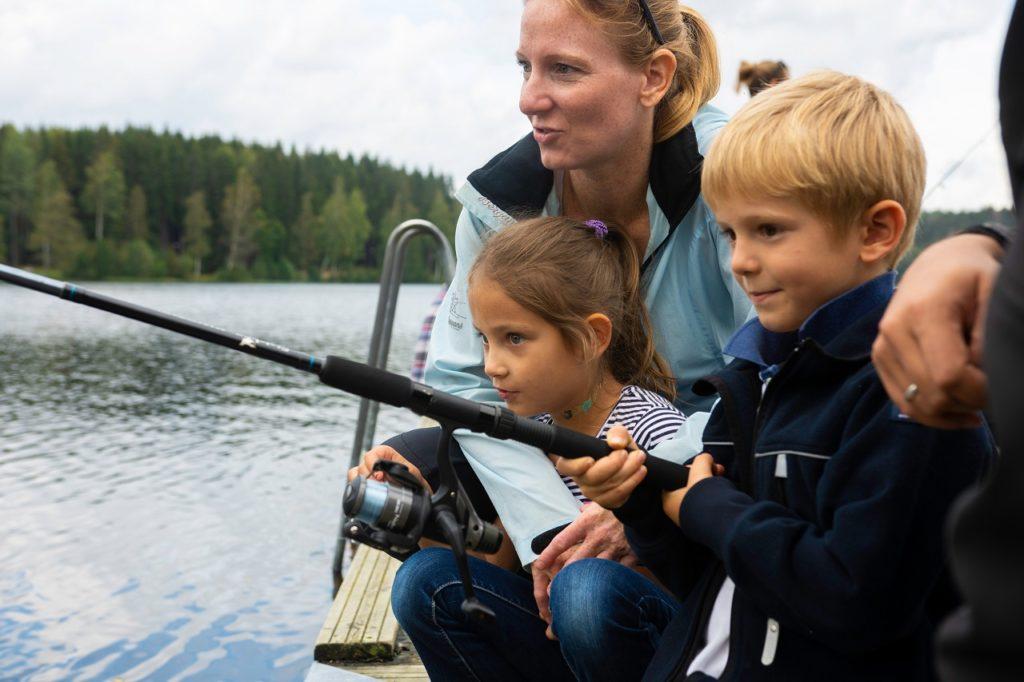 Fisketur - barn - familie - Norsk Friluftsliv