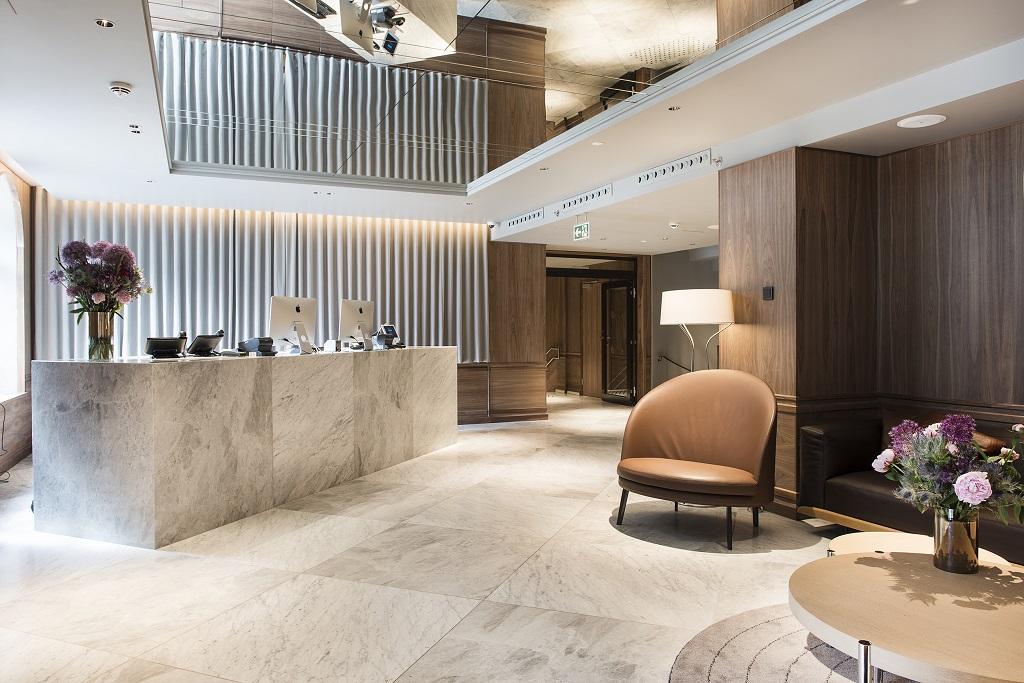 Lobby - Bergen Børs Hotel