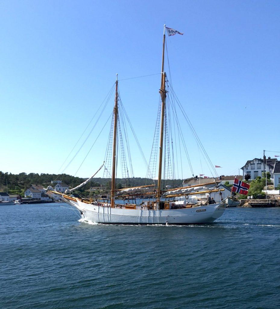 Solrik - Skonnert - Grimstad - Agder - Kulturminnefondet