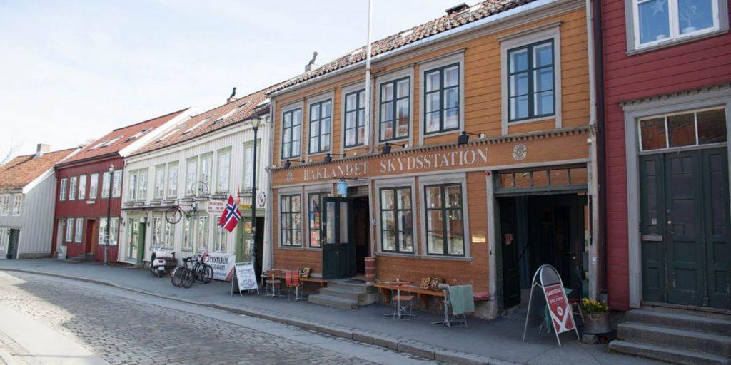 Baklandet skydsstation - Trondheim - Trøndelag - Kulturminnefondet