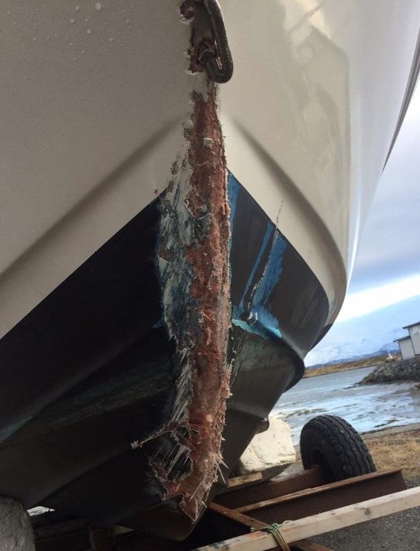 Fritidsbåt - båtskade - Frende