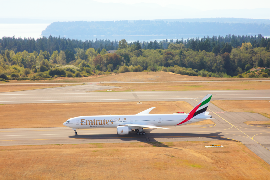 Emirates - Boeing 777 - Stockholm Arlanda Airport