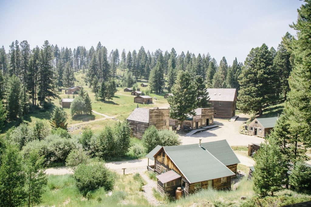 Garnet Ghost Town - Montana -The Great American West -USA