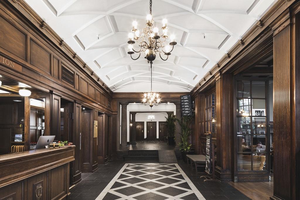 Lobby - Resepsjon - Grand Hotel Terminus - Bergen