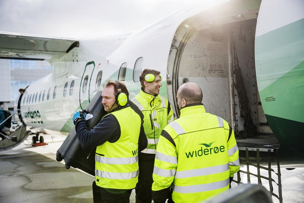 Widerøe Ground Handling - WGH - Bakketjenester