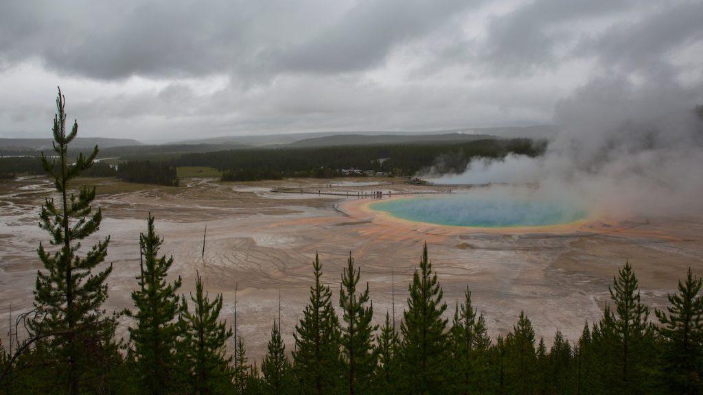 Yellowstone - Nasjonalpark - Wyoming - Rhe Great American West - USA