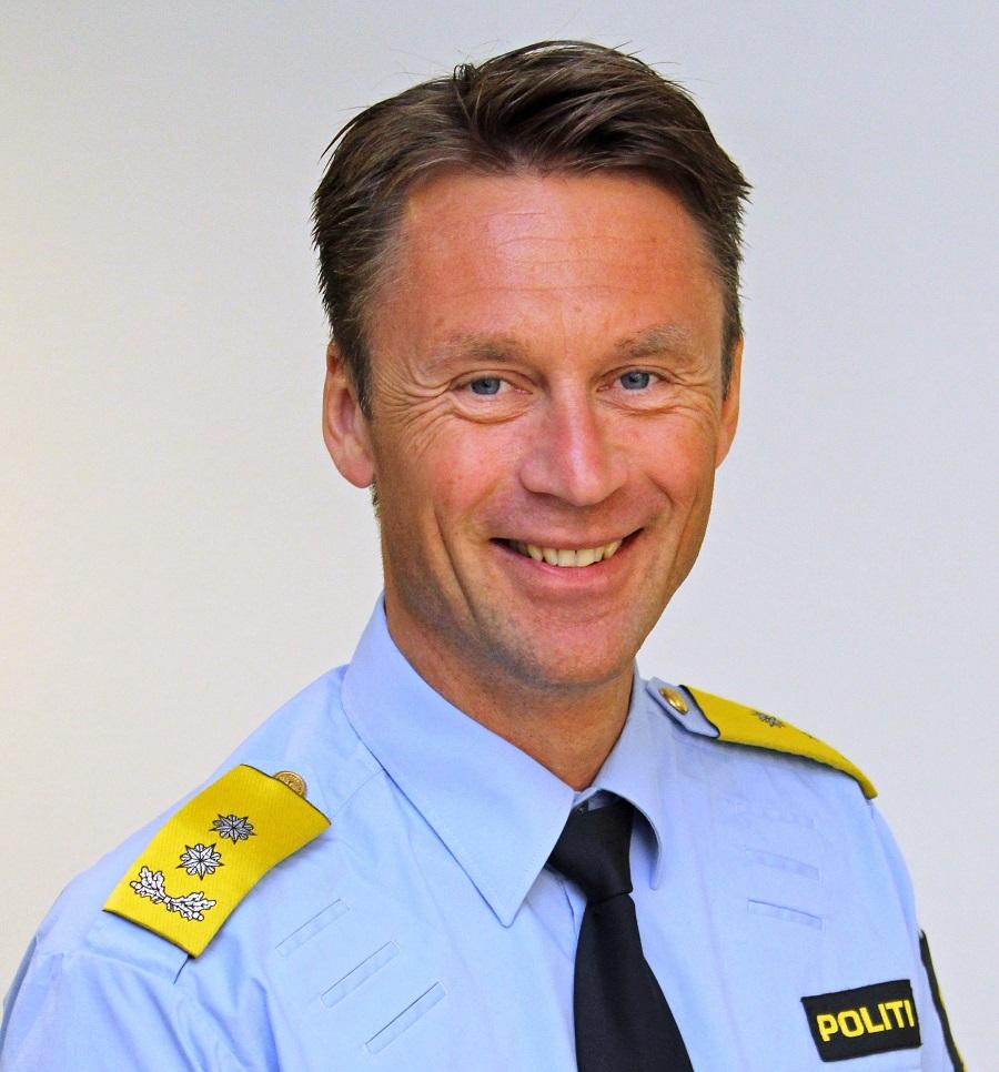 Steven Hasseldal - UP-sjef - Utrykningspolitiet