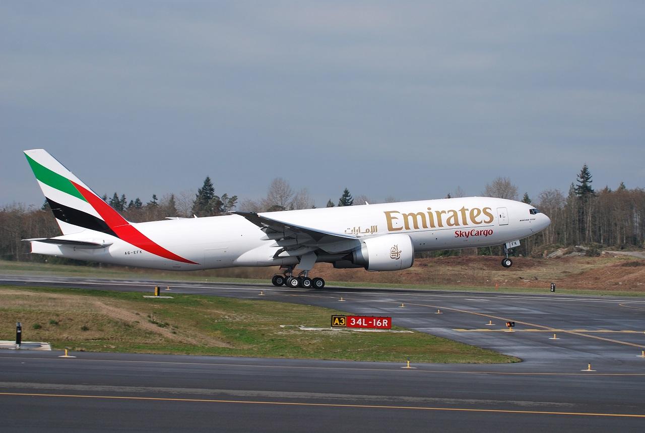 Boeing 777 Fraktfly - Emirates SkyCargo