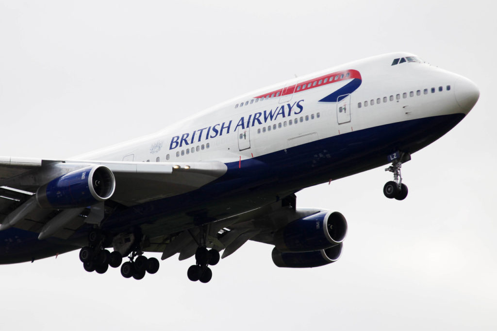 British Airways - Boeing 747 - Jumbojet - 1970 -2010