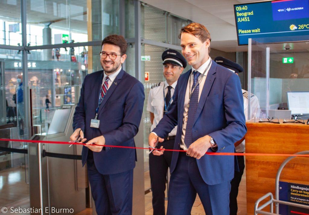 Air Serbia - ruteåpning Oslo - Beograd - juli - 2020