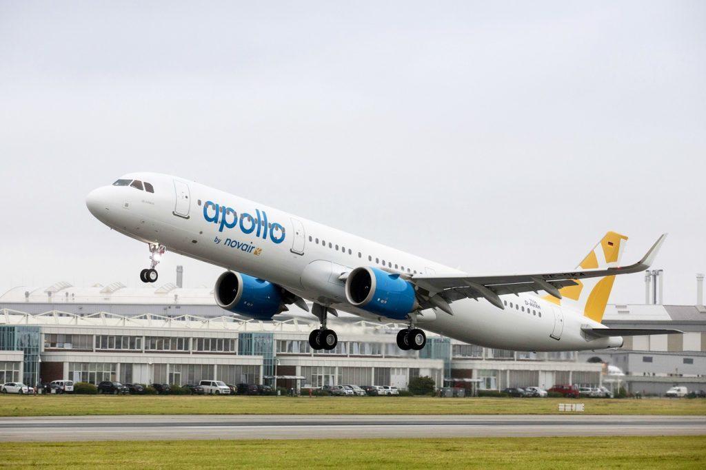Airbus A 320 family - Novair - Apollo