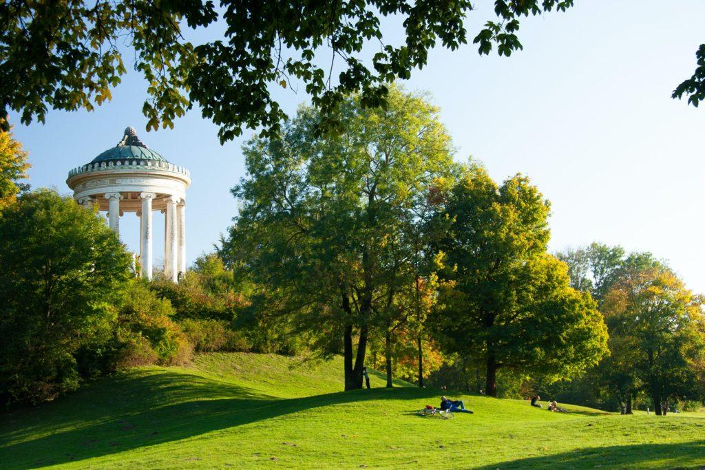 Englischer Garten - Den engelske hagen - München - Tyskland