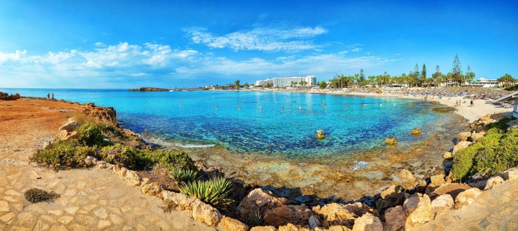 Badestrand - Larnaca - Kypros - Avinor - Wizz Air