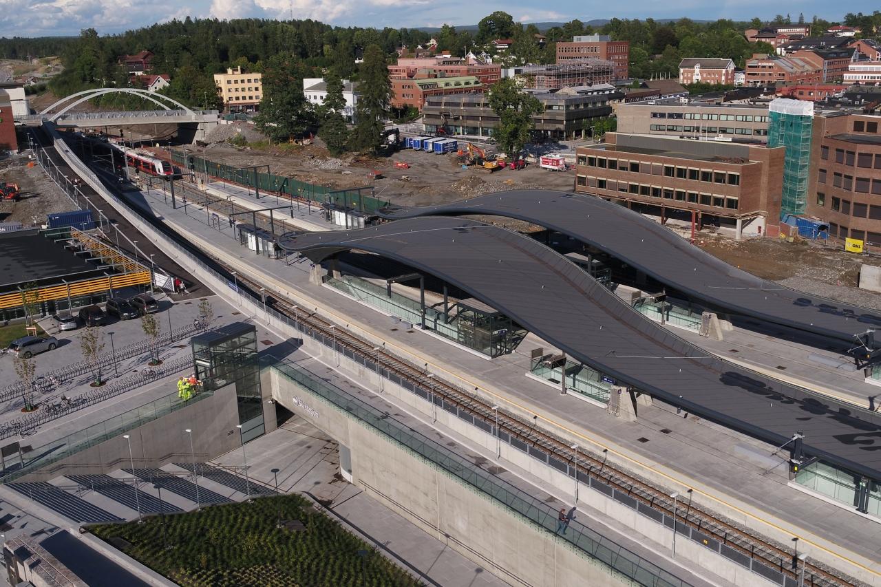 Nye Ski Stasjon - Jernbane - Bane NOR - 2020