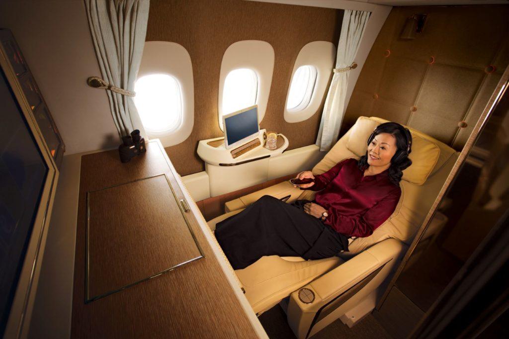First Class - Emirates - 2010