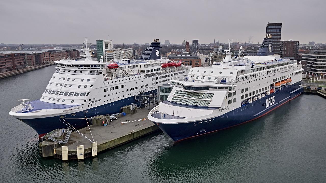 Pearl Seaways - Crown Seaways - danskebåter - DFDS