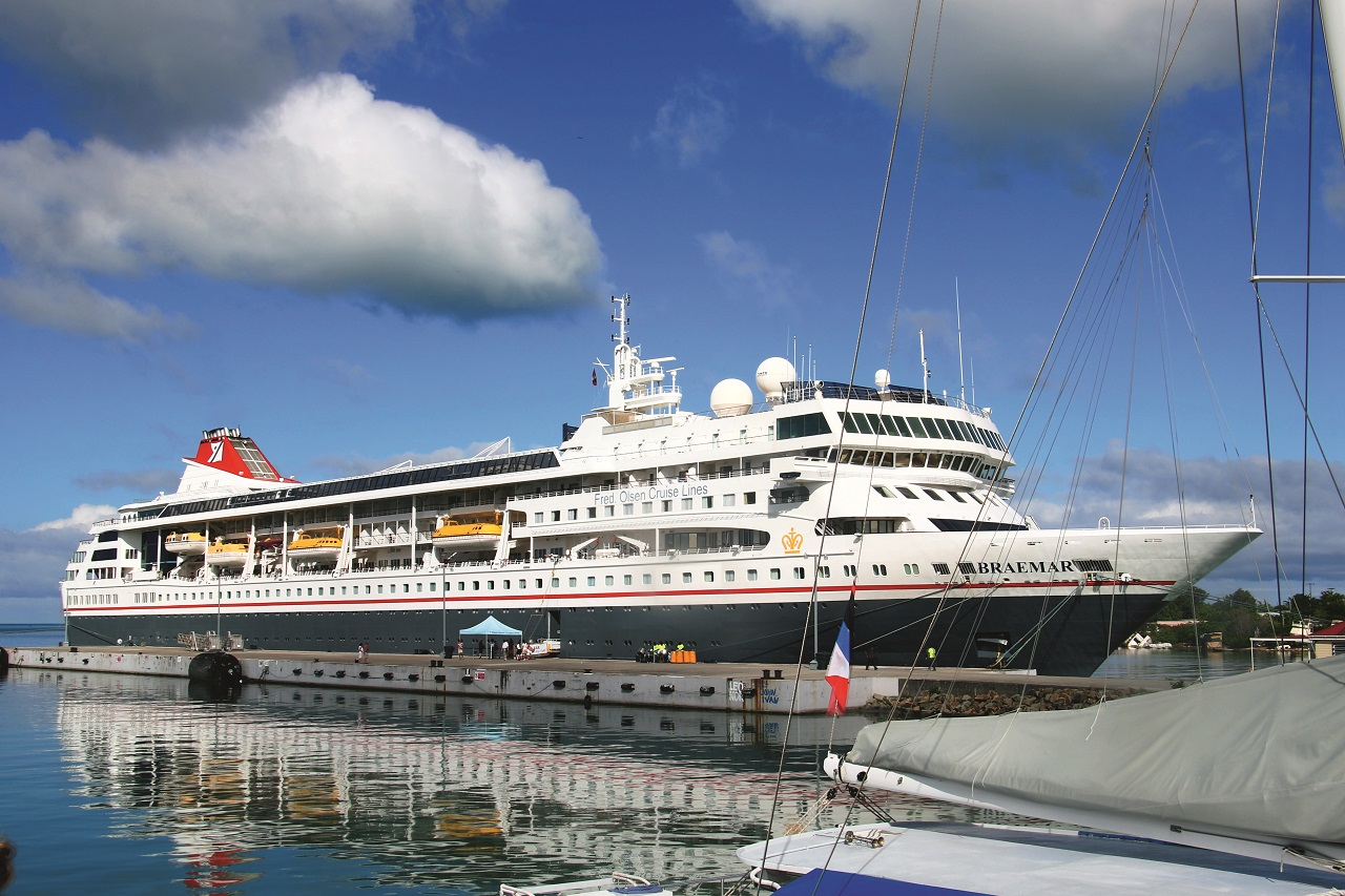 Braemar - St. John - Antigua - Fred. Olsen Cruiselines