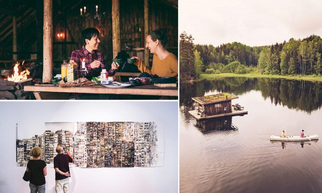 Høydepunkter i Värmland - Collage