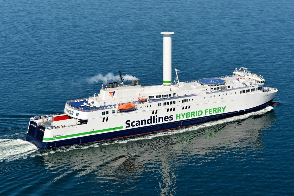 MS Copenhagen - Scandlines - Rotorseil