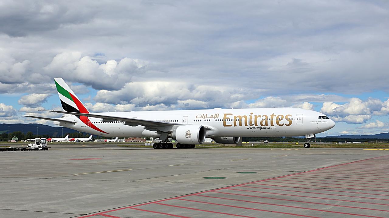 Emirates - Boeing 777-300ER - Oslo - Gardermoen - august 2020