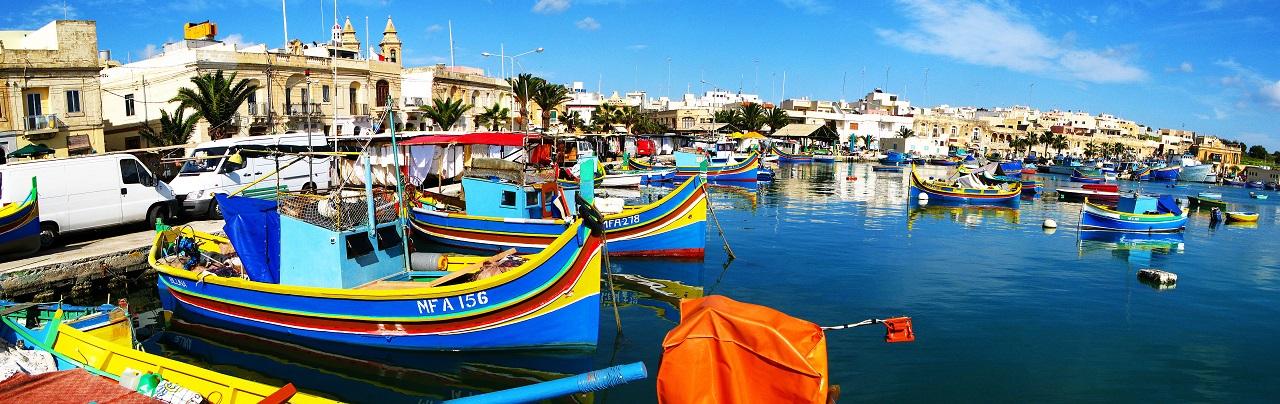 Marsaxlokk - By - Havn - Malta